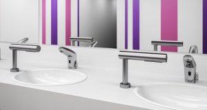 Ambiance avec le sèche-mains sur plan Presto