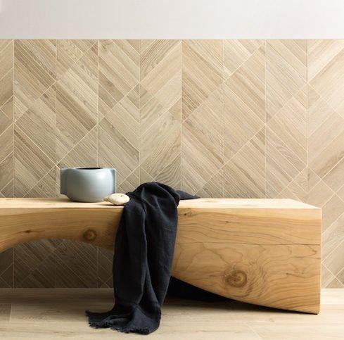 Le bois tendance carrelage 2019 : Ambiance Lea Ceramiche