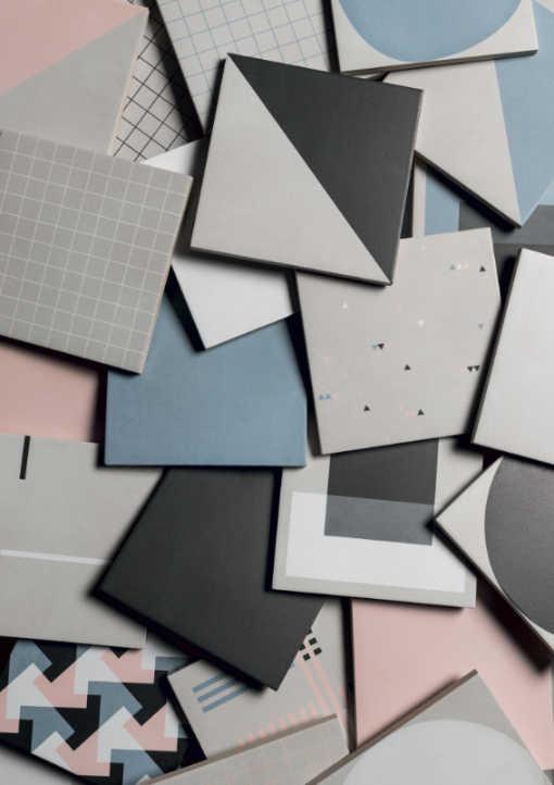 Carrelage tendance géométrique : 41zero42, collection futura