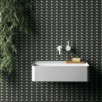 Carrelage tendance motifs géométriques : Living Ceramics, collection Cava