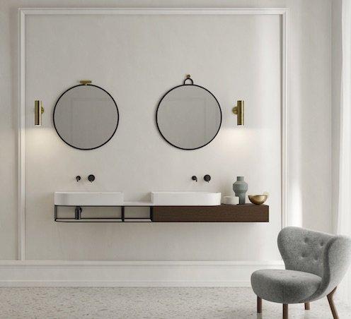 Style classique avec le meuble-vasque Nouveau de Ex.t