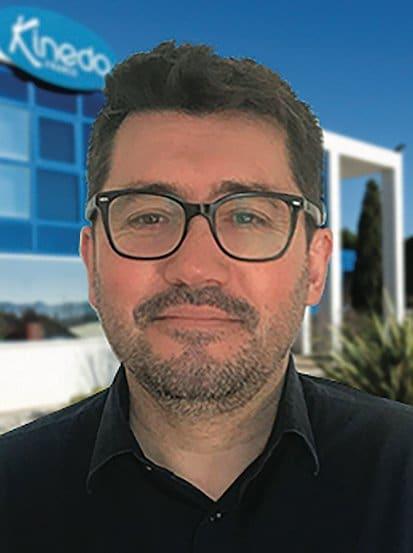 Portrait de Philippe Pobeda, directeur commercial de Kinedo