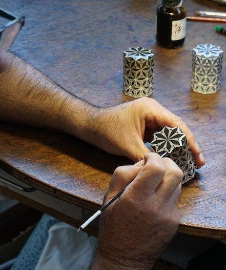 Nihal de THG : décoration des croisillons