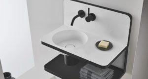 Lavab-suspendu-noir-et-blanc-avec-dosseret