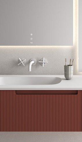Façades-cannelées-couleur-brique-du-meuble-Synergy