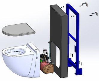 Schéma-éclaté-du-panneau-WC-Broyeur-Silent-Box-Watermatic