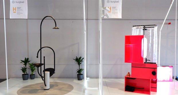 Deux projets de salle de bains design