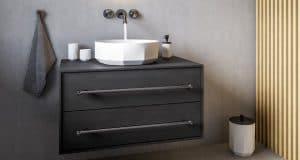 Meuble-salle-de-bain-avec-avec-vasque-posée