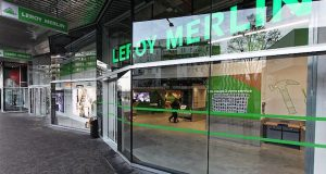 Façade du magasin Leroy Merlin de Paris 19e
