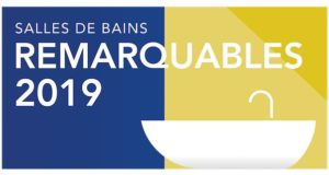 Logo salles de bains remarquables 2019