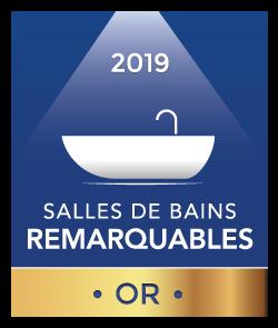 Logo Trophée Or salles de bains remarquables