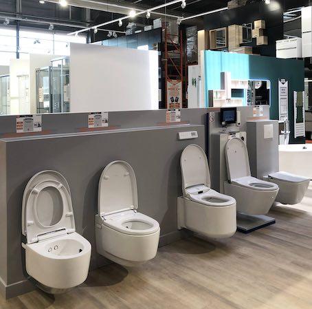 WC lavants Bricoman Metz