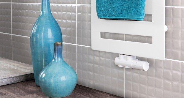 robinet thermostatique design pour sèche-serviettes