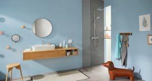 Douche avec colonne Croma E de Hansgrohe