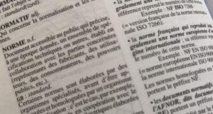Norme : extrait du dictionnaire
