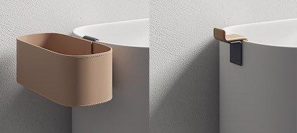 Les accessoires du lave-mains Ptit de Rexa design