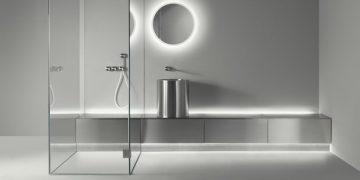 Salle de bains en inox Abaco de CEA Design