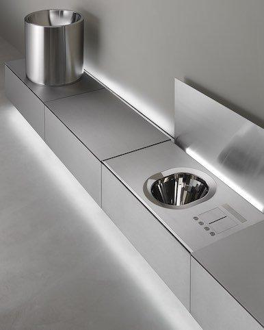 Abaco de CEA Design : du lavabo au WC, une seule rangée | Sdbpro