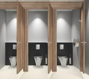 Ambiance toilettes publics delabie