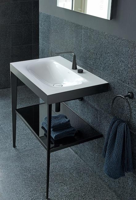 lavabo console xviu de duravit