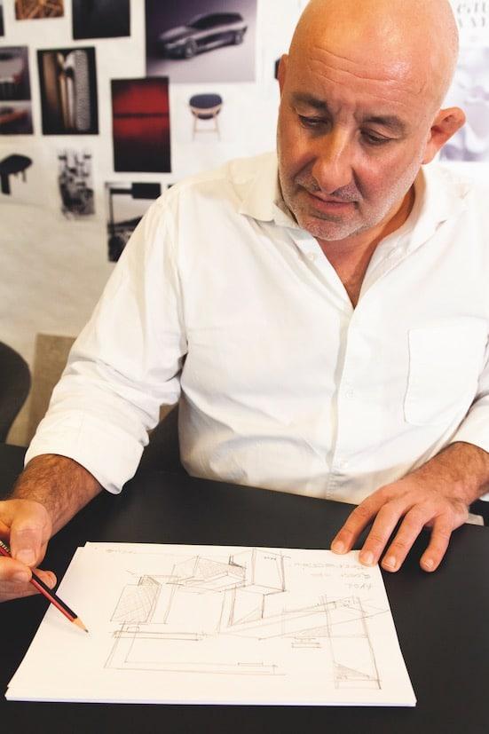 portrait du designer Jean-Marie Massaud