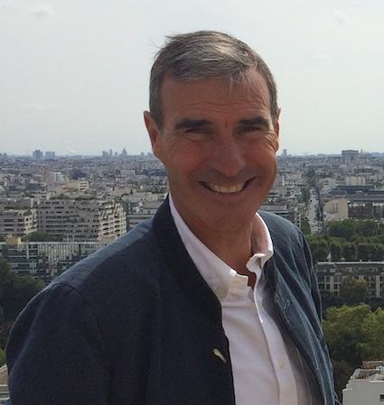 portrait de Arnaud Valentin président de Valentin