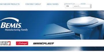 capture d'écran du site Bemis EMEA