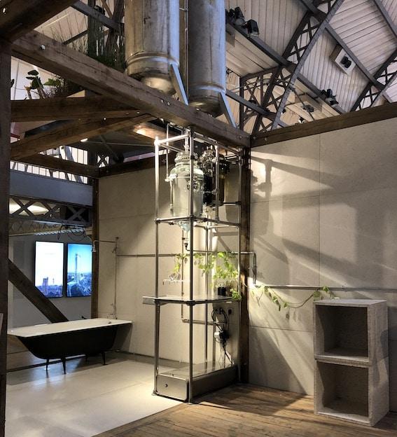 Installation d'épuration d'eau pour l'hôtellerie