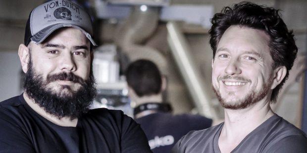 Mickaël Germano et Vincent Augier