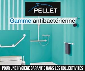 Pellet gamme antibactérienne