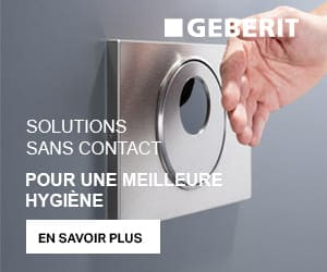 Geberit solutions sans contact