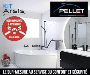 Pelet kit Arsis : amenagement de salle de bain