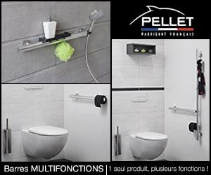 Pellet : Barres de salle de bain multifonctions