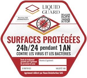 sticker Liquid Guard