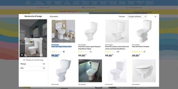 Castorama Lance La Recherche De Produits Par L Image Sur Son Site Sdbpro