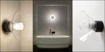 applique lumineuse pour la salle de bains