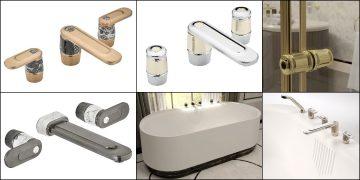différents modèles de la gamme de robinets mélangeurs Corvair de THG