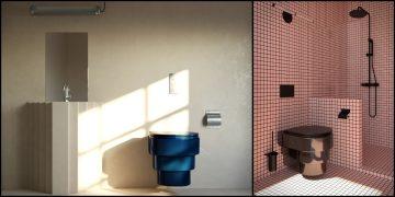 deux exemple du WC Callipyge de Trone
