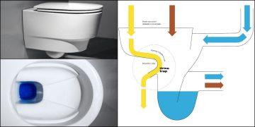 cuvette WC Save de Laufen à séparation d'urine
