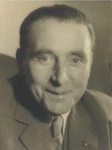 Portrait d'Isidore Odorico en 1940
