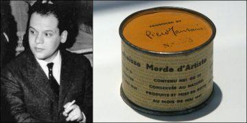 Piero Manzoni et sa boite de merde d'artiste