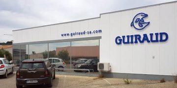 Façade de l'agence Guiraud SA à Nyons