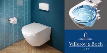WC TwistFlush de Villeroy & Boch et sa chasse vortex