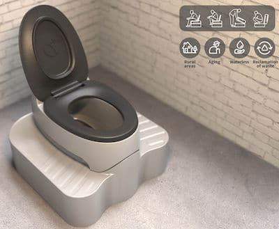 WC à la fois turc et classique