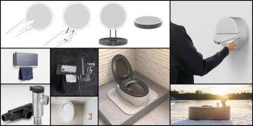 mosaïques de produits lauréats des iF Design salle de bains