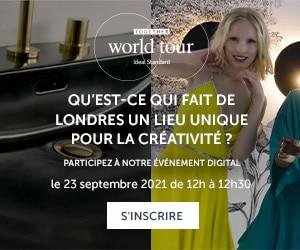 Invitation Ideal Standard Worldtour Londres