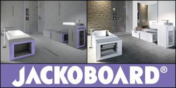 salle de bain rénovée avec les sytèmes Jackoboard