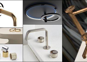 Mosaïques de robinets au design annulaire