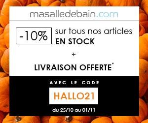 Masalledebain.com code promo Halloween